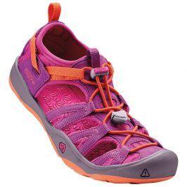 Dětské sandály MOXIE SAND, purple wine/nasturtium fuchsia 36