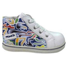 Dětstká kotníková obuv bílá 23