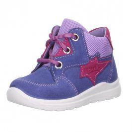 Dětské celoroční boty MEL fialová 25