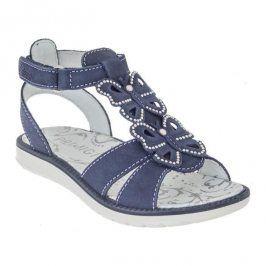 Dívčí sandály Azzur modrá 32