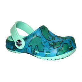 sandály fajlon kid modrá 27