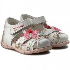 Dívčí sandály bílá 21