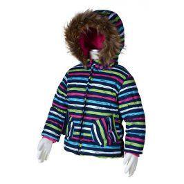 zimní bunda s lyžařským pásem holka 104