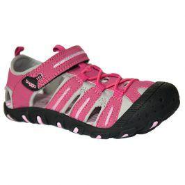 sandále dětské 27 růžová 34