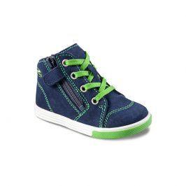 Dětská kotníková obuv SING modrá 21
