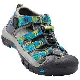 Dětské sandály NEWPORT H2 K, magnet/blue danube kluk 24