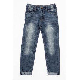 Kalhoty džínové chlapecké modrá 122/128
