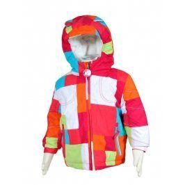 bunda dívčí zimní růžová 92