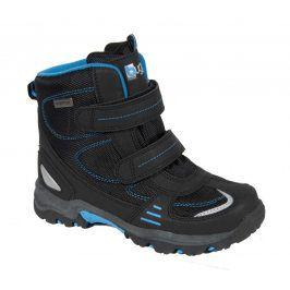 boty chlapecké zimní modrá 22