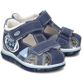 Chlapecké sandály Azzu modrá 22