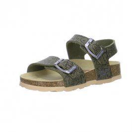 dětské pantofle zelená 27