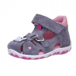 Superfit 4-00039-05 Dívčí sandály FANNI šedá 26