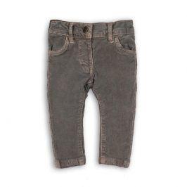 Kalhoty dívčí šedá 80/86