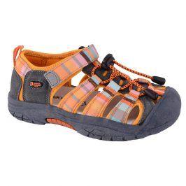 sandále dětské 25 oranžová 38