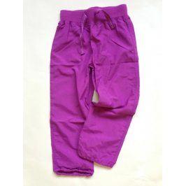 kalhoty sportovní outdoor fialová 98