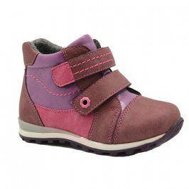 boty dívčí zateplené růžová 26