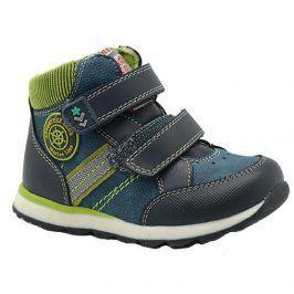 boty chlapecké celoroční modrá 22
