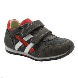 boty chlapecké celoroční šedá 26
