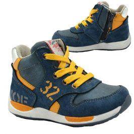 boty chlapecké celoroční modrá 23