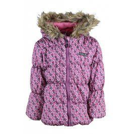 bunda dívčí PUFFY růžová 116
