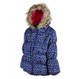 bunda dívčí PUFFY modrá 122