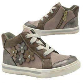 boty dívčí celoroční šedá 30