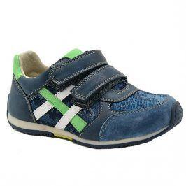 boty chlapecké celoroční modrá 24