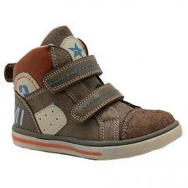 boty dětské celoroční hnědá 26
