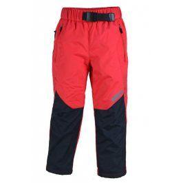 kalhoty sportovní outdoorové červená 116