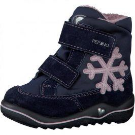Dívčí zimní botičky HILDI modrá 28