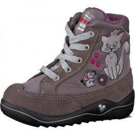 Dívčí zimní botičky RUBY hnědá 26