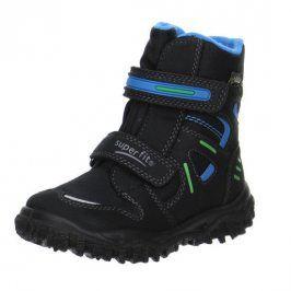 zimní boty HUSKY světle modrá 26