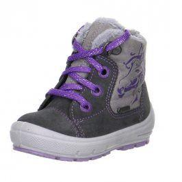 Dívčí zimní boty GROOVY šedá 22