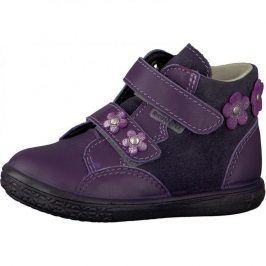 Dívčí celoroční botičky ABBY fialová 27