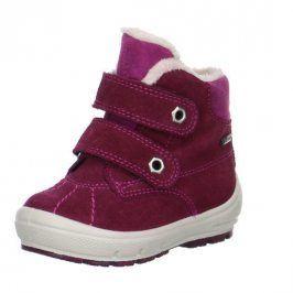 zimní boty GROOVY růžová 28