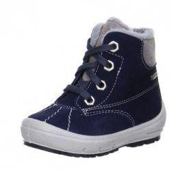 zimní boty GROOVY modrá 22