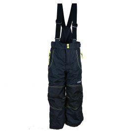 kalhoty zimní lyžařské černá 146/152