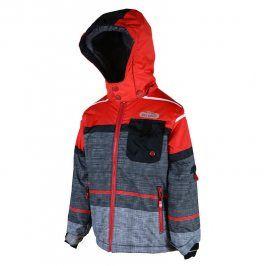 Pidilidi PD1019-08 bunda zimní lyžařská červená 158/164