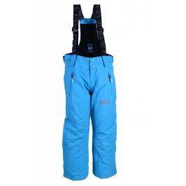 kalhoty zimní lyžařské modrá 140