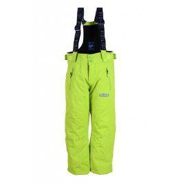kalhoty zimní lyžařské zelená 140