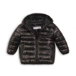 Minoti KID 10 Bunda chlapecká zimní Puffa černá 18-24m