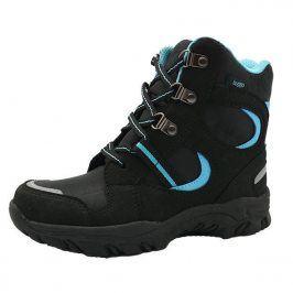 boty zimní nepromokavá membrána modrá 24