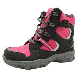 boty zimní nepromokavá membrána růžová 23