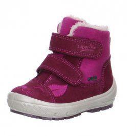 zimní boty GROOVY růžová 26