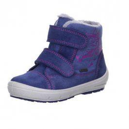zimní boty GROOVY modrá 28