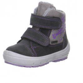 zimní boty GROOVY šedá 28