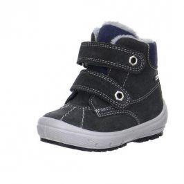 zimní boty GROOVY šedá 25