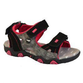 sandály dětské růžová 33