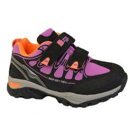 boty dětské softshell růžová 27