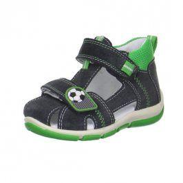 chlapecké sandály FREDDY zelená 22